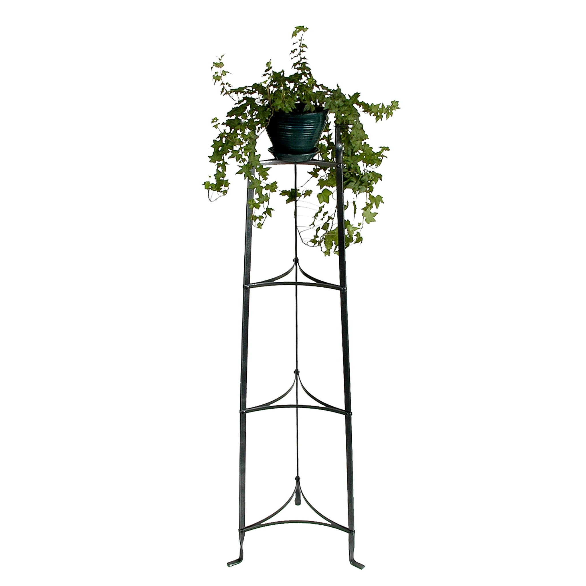 4-Tier Designer Stand Hammered Steel - Enclume Design Products