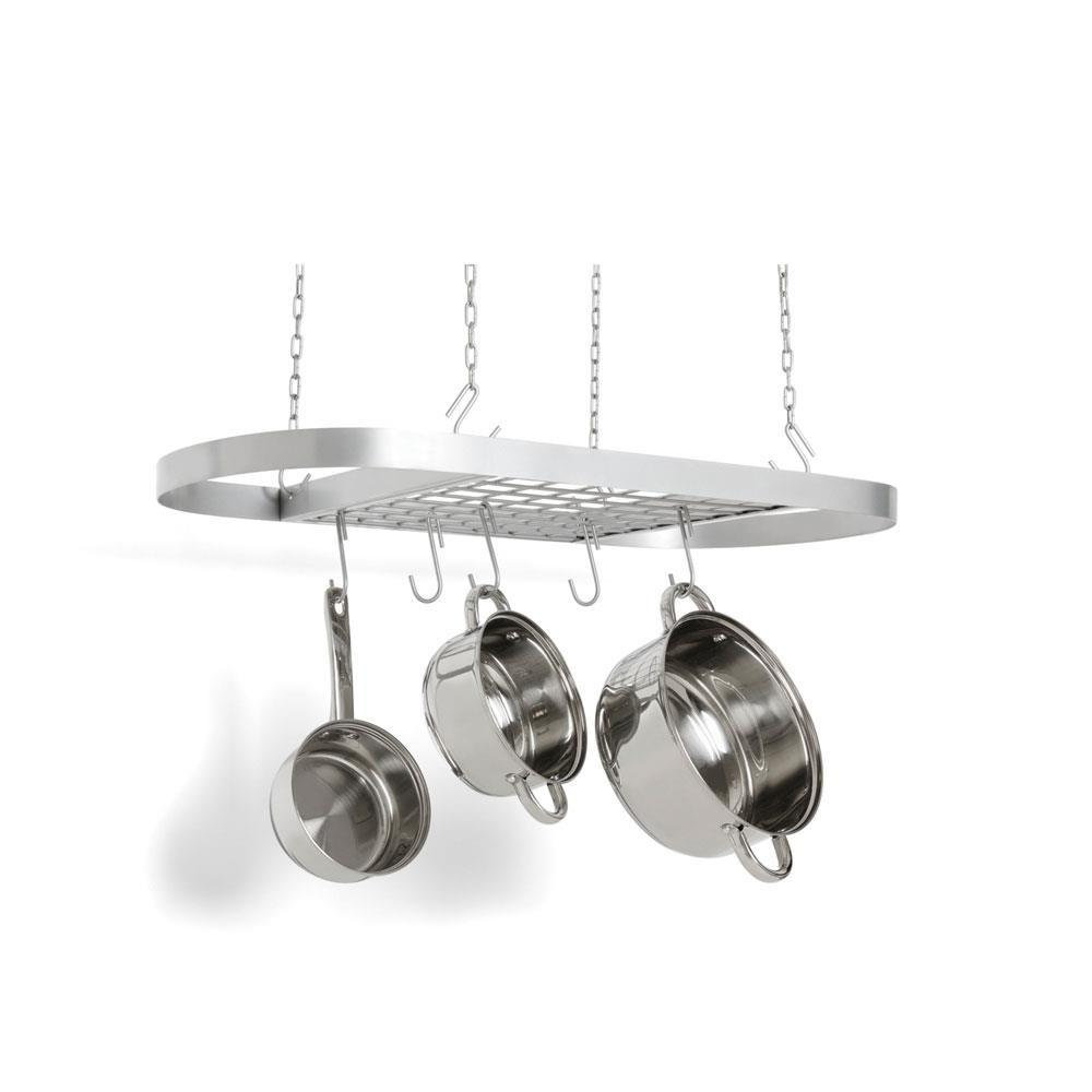 Fox Run Stainless Steel Oval Pot Rack