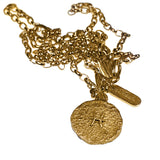Zodiac Medallion in 18kt Gold - Alkemi Designs