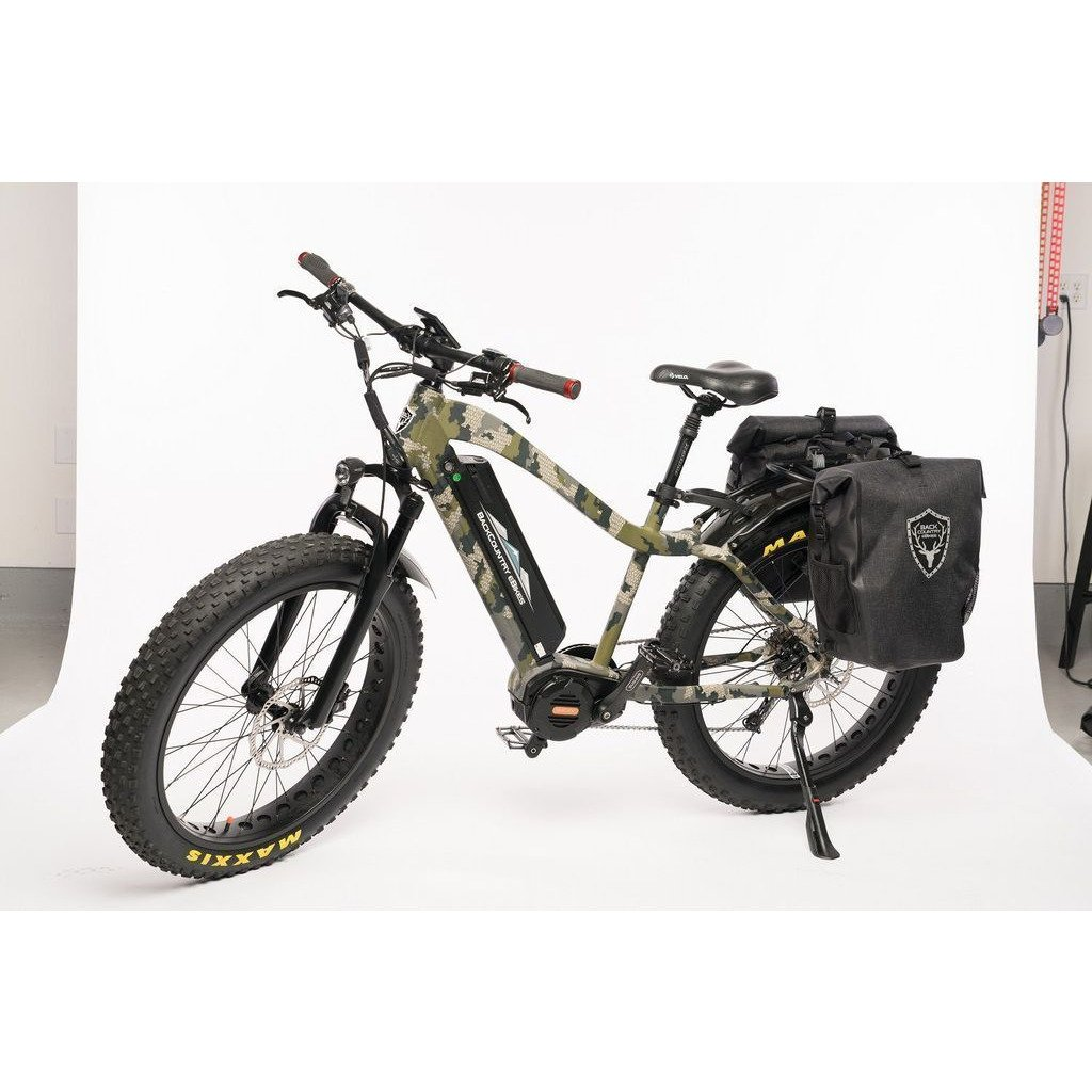 "Bakcou Electric Bikes BAKCOU MULE  Step Through Elite 24"" Fat Tire 17.4Ah Electric Hunting Bike"