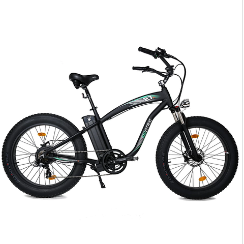 Ecotric Electric Bikes Ecotric Hammer Fat Tire Beach Snow Electric Bike HAMMERUSB