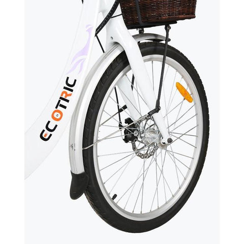 Ecotric Electric Bikes In Stock Ecotric Lark Electric City Bike For Women LARK26-W