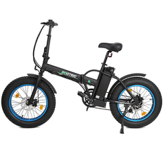 Ecotric Fat Tire Portable & Folding Electric Bike FAT20810