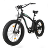 Image of Ecotric Electric Bikes Matte Black Ecotric Hammer Fat Tire Beach Snow Electric Bike HAMMERUSB