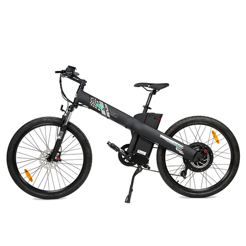 Ecotric Electric Bikes Matte Black Ecotric Seagull Electric Mountain Bike SEAGULL26S900USB