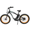 Image of Ecotric Electric Bikes Orange Ecotric Hammer Fat Tire Beach Snow Electric Bike HAMMERUSB