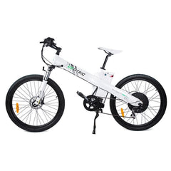 Ecotric Electric Bikes White Ecotric Seagull Electric Mountain Bike SEAGULL26S900USB