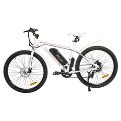 Ecotric Electric Bikes White Ecotric Vortex Electric City Bike