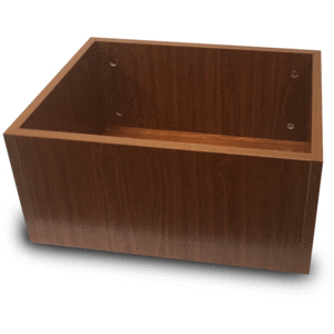 Emojo Accessories Cherry Wooden Cargo Utility Box For Caddy & Caddy Pro