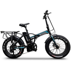 "Emojo Electric Bikes Black Emojo Lynx Pro Ultra 48V 750W 20"" Folding Electric Bike"