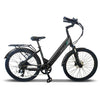 Image of Emojo Electric Bikes Black Emojo Panther Pro 48V 500W Fat Tire Electric Bike