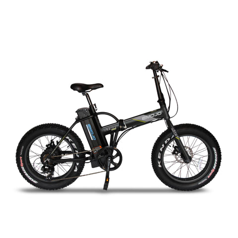 "Emojo Electric Bikes Black / Pre Order (Estimated Ship Date: 15 July 2021) Emojo Lynx Pro Ultra 48V 500W 20"" Folding Electric Bike"