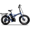 "Image of Emojo Electric Bikes Matt Blue Emojo Lynx Pro Ultra 48V 750W 20"" Folding Electric Bike"