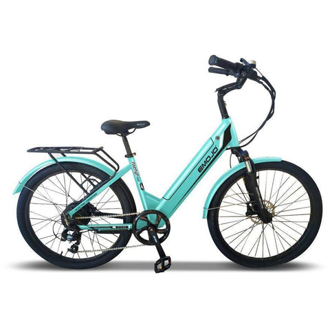 Emojo Electric Bikes Teal Green Emojo Panther Pro 48V 500W Fat Tire Electric Bike