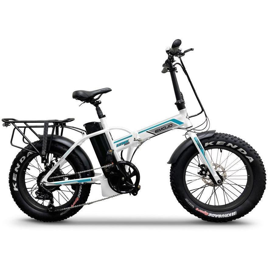 "Emojo Electric Bikes White Emojo Lynx Pro Ultra 48V 750W 20"" Folding Electric Bike"