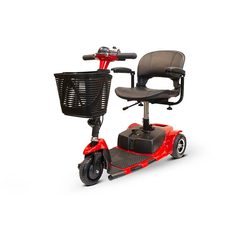 EWheels Mobility Scooters EW-20 / Red & Black EWheels EW-20 Three Wheel Mobility Scooter