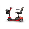 Image of EWheels Mobility Scooters EW-20 / Red & Black EWheels EW-20 Three Wheel Mobility Scooter