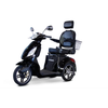 Image of EWheels Mobility Scooters EW-36 Elite / Black EWheels EW-36 Elite Three Wheel Mobility Scooter