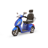 Image of EWheels Mobility Scooters EW-36 Elite / Blue EWheels EW-36 Elite Three Wheel Mobility Scooter