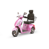 Image of EWheels Mobility Scooters EW-36 Elite / Magenta EWheels EW-36 Elite Three Wheel Mobility Scooter