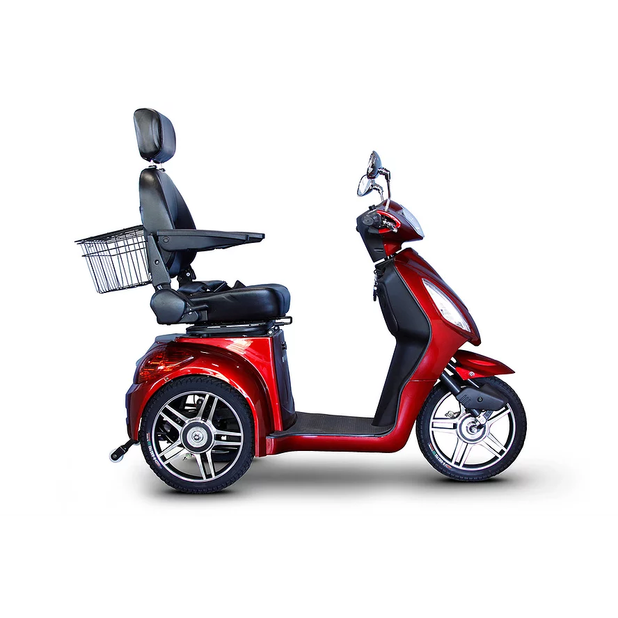 EWheels Mobility Scooters EW-36 Elite / Red EWheels EW-36 Elite Three Wheel Mobility Scooter