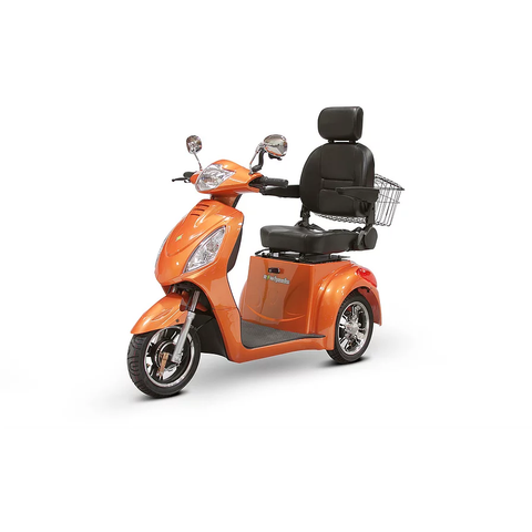 EWheels Mobility Scooters EW-36 / Orange EWheels EW-36 Three Wheel Mobility Scooter