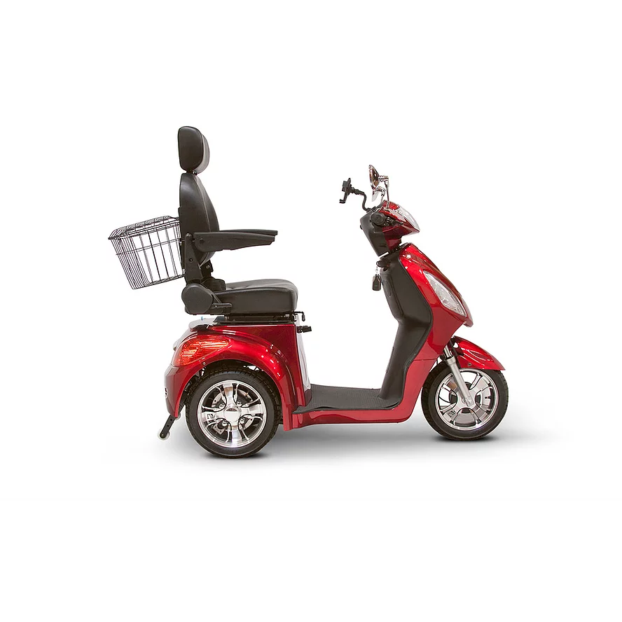 EWheels Mobility Scooters EW-36 / Red EWheels EW-36 Three Wheel Mobility Scooter