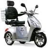 Image of EWheels Mobility Scooters EW-36 / Silver EWheels EW-36 Three Wheel Mobility Scooter
