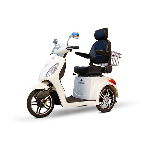 EWheels Mobility Scooters EW 36 / White EWheels EW-36 Three Wheel Mobility Scooter