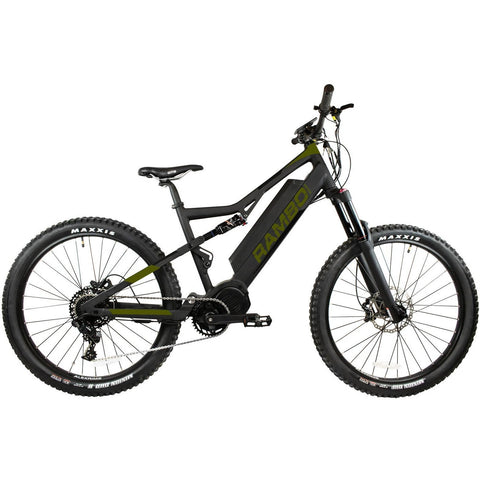 Rambo Electric Bikes Pre-Order (Estimated Shipping Date: 8 March 2021) RAMBO Rampage 1000W XP Full Suspension 21 AH Electric Bike