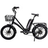 Image of Revi Bikes Electric Bikes Black Revi Bikes Runabout Step-Thru Electric Bike
