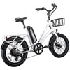 Image of Revi Bikes Electric Bikes White Revi Bikes Runabout Step-Thru Electric Bike