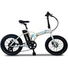 "Image of Runner X Electric Bikes White - In Stock Runner X Urban Series 500W 36V 20"" Folding Electric Bike R01"
