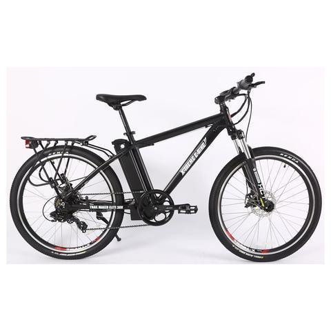 X-Treme Electric Bikes Black X-Treme Trail Maker Elite Max 36 Volt Lithium Powered Electric Mountain Bike