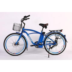 X-Treme Newport Elite Max 36 Volt Lithium Powered Electric Beach Cruiser Bicycle