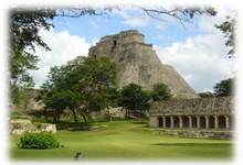 Load image into Gallery viewer, UXMAL WITH HACIENDA AND CENOTE