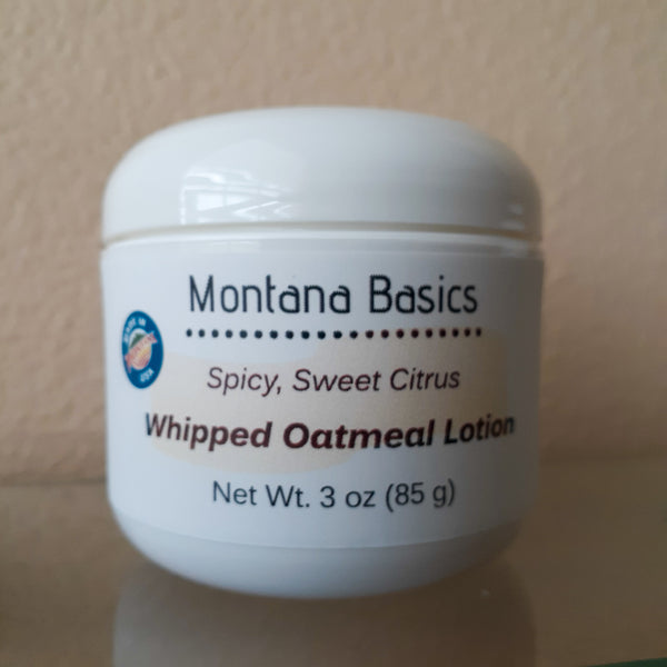 Whipped Oatmeal Lotion - Spicy Sweet Citrus