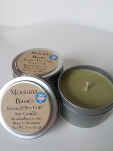 Roasted Pine Cone - Soy Candle