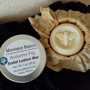 Solid Lotion Bar - Autumn Fig - COMING SOON