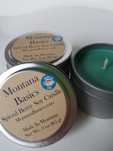Spiced Berry - Soy Candle
