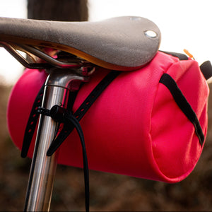 Wizard Works Lil Presto Barrel Bag,  saddle attachment