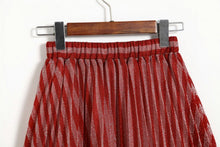 Load image into Gallery viewer, Red striped skirt 2019