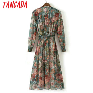 Fashion Women Floral  Dress
