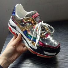 Load image into Gallery viewer, Fashion Glitter Sneakers