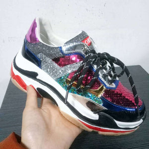 Fashion Glitter Sneakers