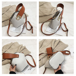 Small Bucket Ladies Sling Crossbody Bag