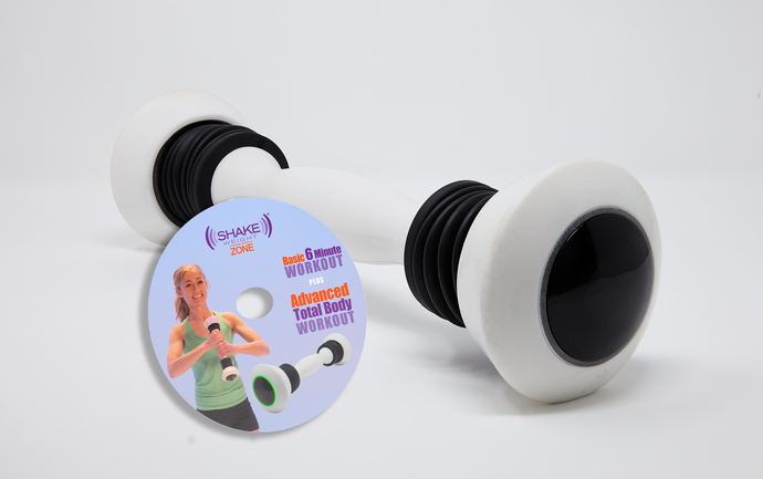 Shake Weight Zone with 2 BONUS Arm Toning Workouts on DVD - As Seen on TV