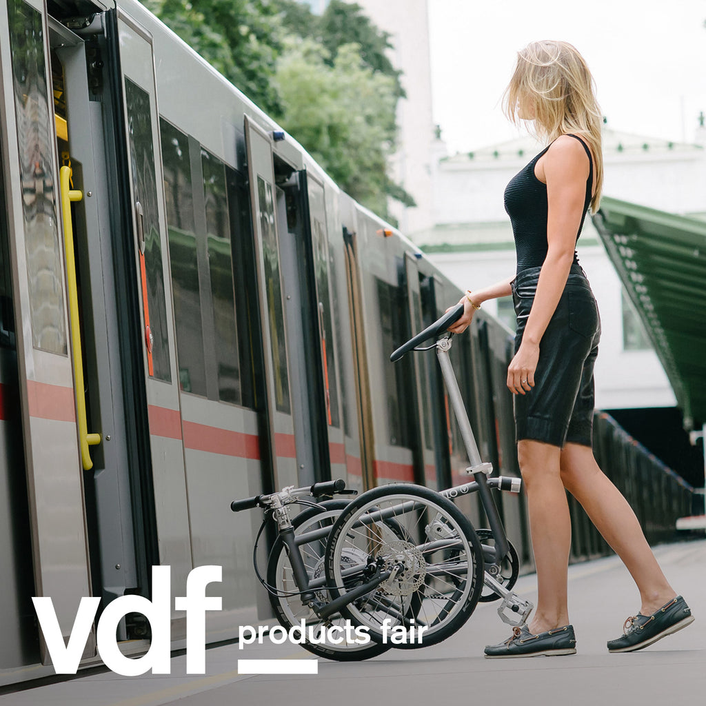 "Vello is showing three of its folding bicycles at Virtual Design Festival's products fair, including Vello Bike+, which is ""the first bike to combine electric, self-charging and folding features"" according to the Austrian brand."