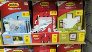 This is a pretty good Costco deal! 3M Command Damage Free Hanging Hardware and Hooks are on sell at Costco for bout $10, compared to normal price of ...