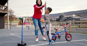 Kids Basketball Bike Only $59.88 Shipped | Goes from Bike to Basketball Hoop